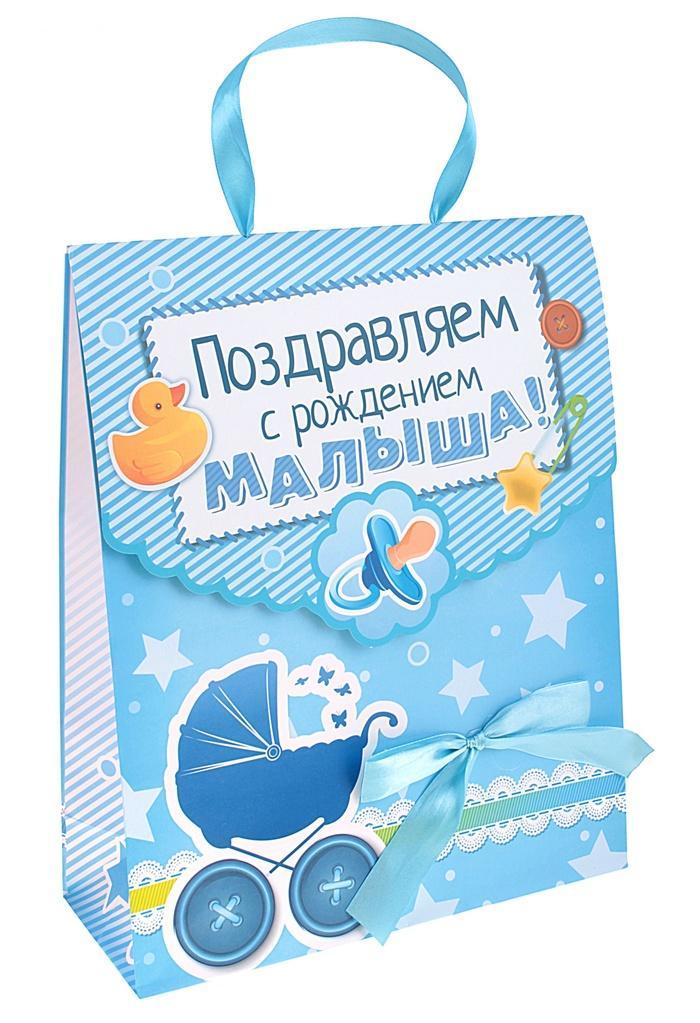 Упаковка подарков для новорожденных 72