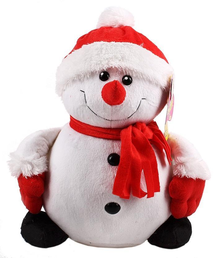 Снеговик игрушка на новый год своими руками